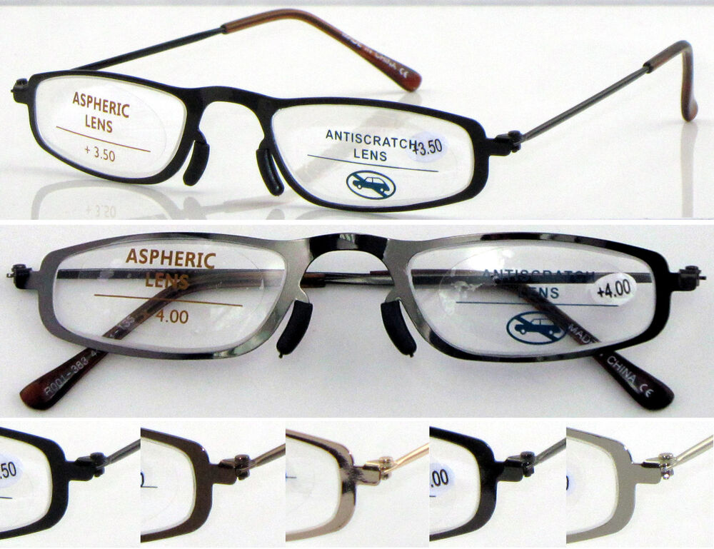 Reading Glasses No Frame : L383 Superb Quality Reading Glasses & NO WELDING Steel ...