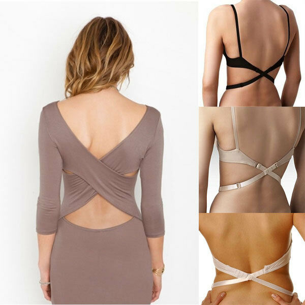 Seamless strappy back bra with ruched bust and stretchy fit all over. Show off with backless and low back pieces.