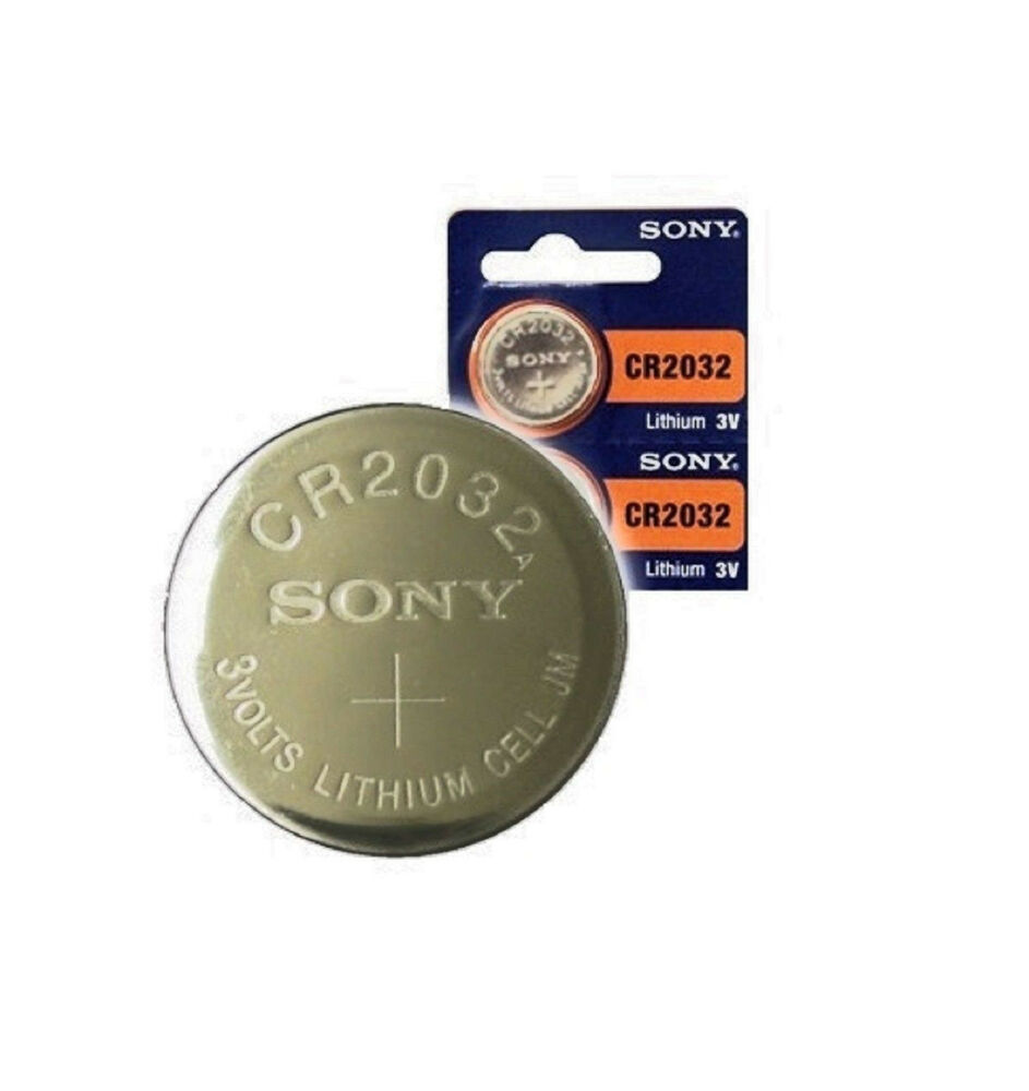 sony cr2032 2 pack 3v lithium button cell battery ebay. Black Bedroom Furniture Sets. Home Design Ideas