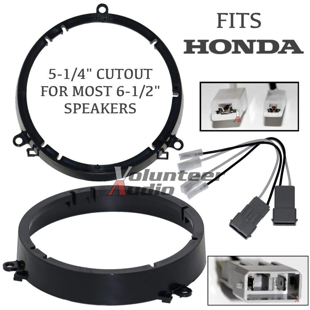 sah6 2001 2005 honda civic speaker adapter front. Black Bedroom Furniture Sets. Home Design Ideas