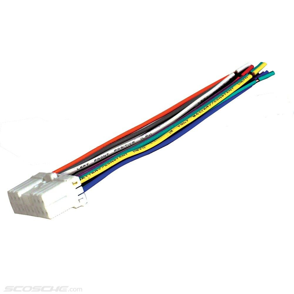 Wiring Harness For Subaru Legacy : Subaru plugs into factory radio car stereo cd player