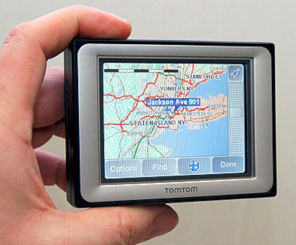new tomtom eclipse portable car gps system us canada maps tom navigator avn2210p 73549006260 ebay. Black Bedroom Furniture Sets. Home Design Ideas