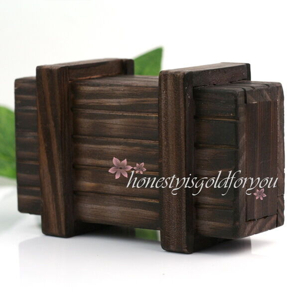 schatzkiste holzbox schatz box kiste schatztruhe truhe geldtruhe aus holz magic ebay. Black Bedroom Furniture Sets. Home Design Ideas