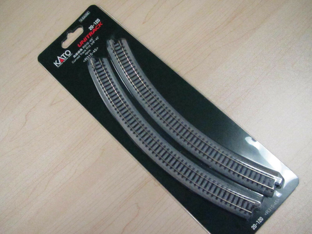 kato n scale unitrack 315mm curves 20 120 4 ebay. Black Bedroom Furniture Sets. Home Design Ideas