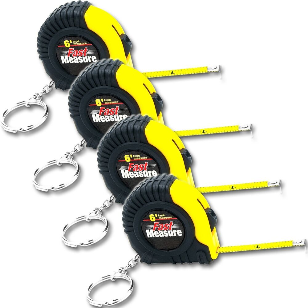 4 Performance 6-Ft Pocket Tape Measure with Key Ring Brand ...