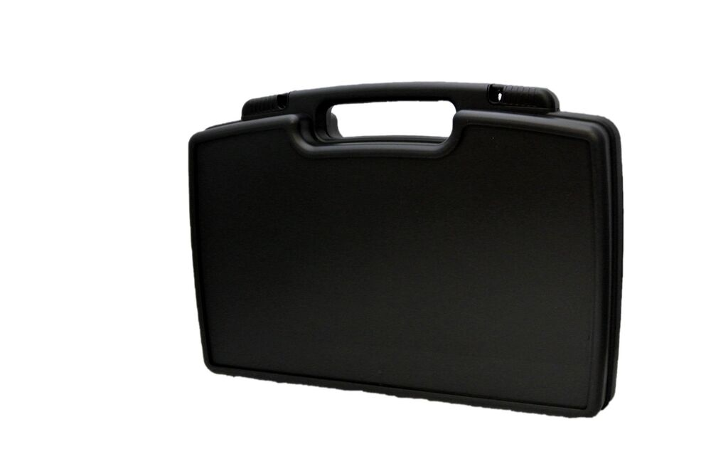 Hard Plastic Carrying Case - Removable Foam Interior - Lockable | eBay