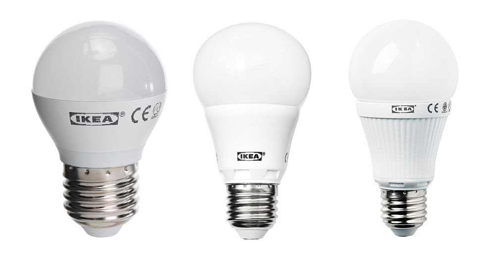 ikea ledare led bulb e27 white screw cap globe 200 400 600 lumens ebay. Black Bedroom Furniture Sets. Home Design Ideas