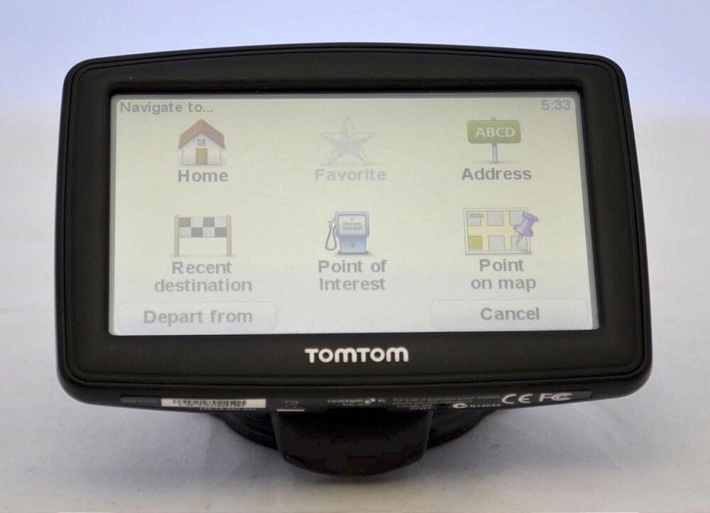 tomtom xl 335t car gps 4 3 set usa canada north america maps lifetime traffic 636926039550 ebay. Black Bedroom Furniture Sets. Home Design Ideas