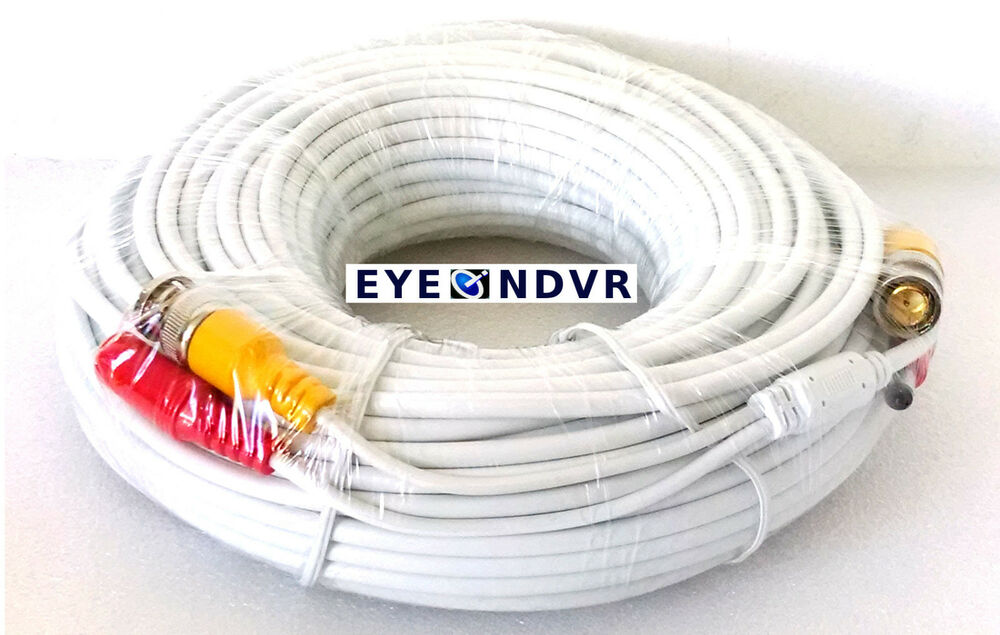 100 Ft Security Camera Cable