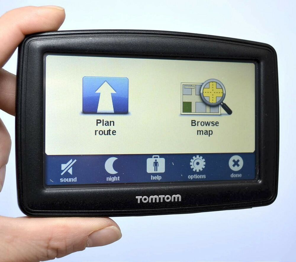 tomtom xl 335s car gps 4 3 lcd set usa canada north. Black Bedroom Furniture Sets. Home Design Ideas