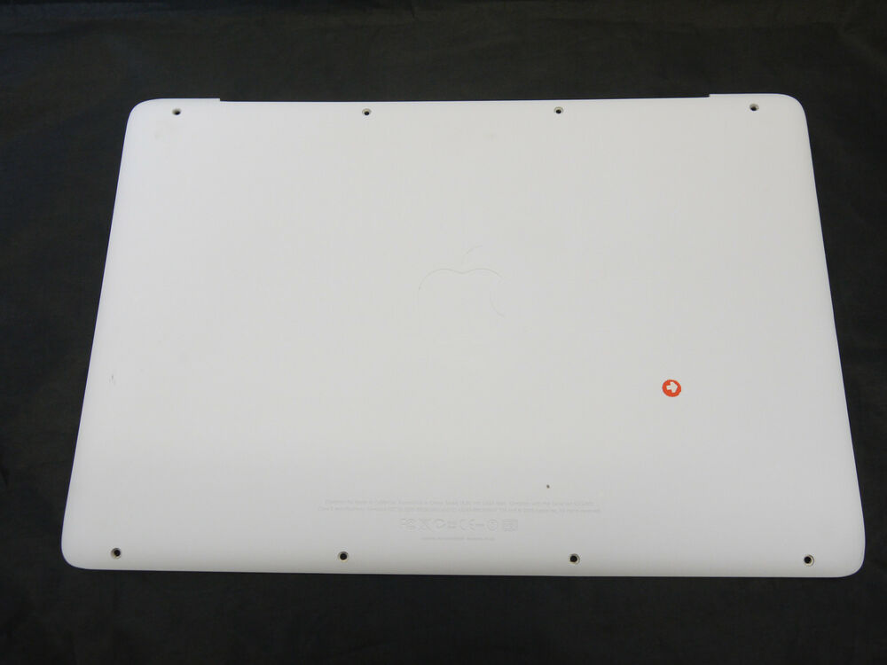 White Macbook Cover ~ Grade c lower bottom case cover white for macbook