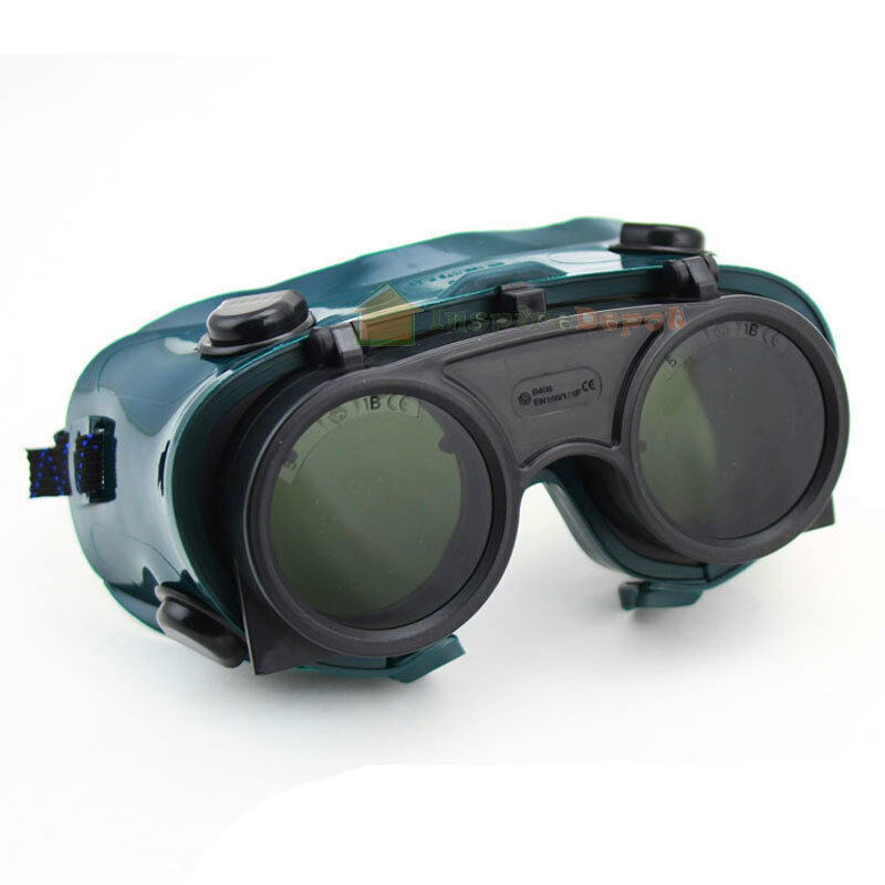 Goggle Welding Safety Len Goggles Flip-Up ANSI Z87.1