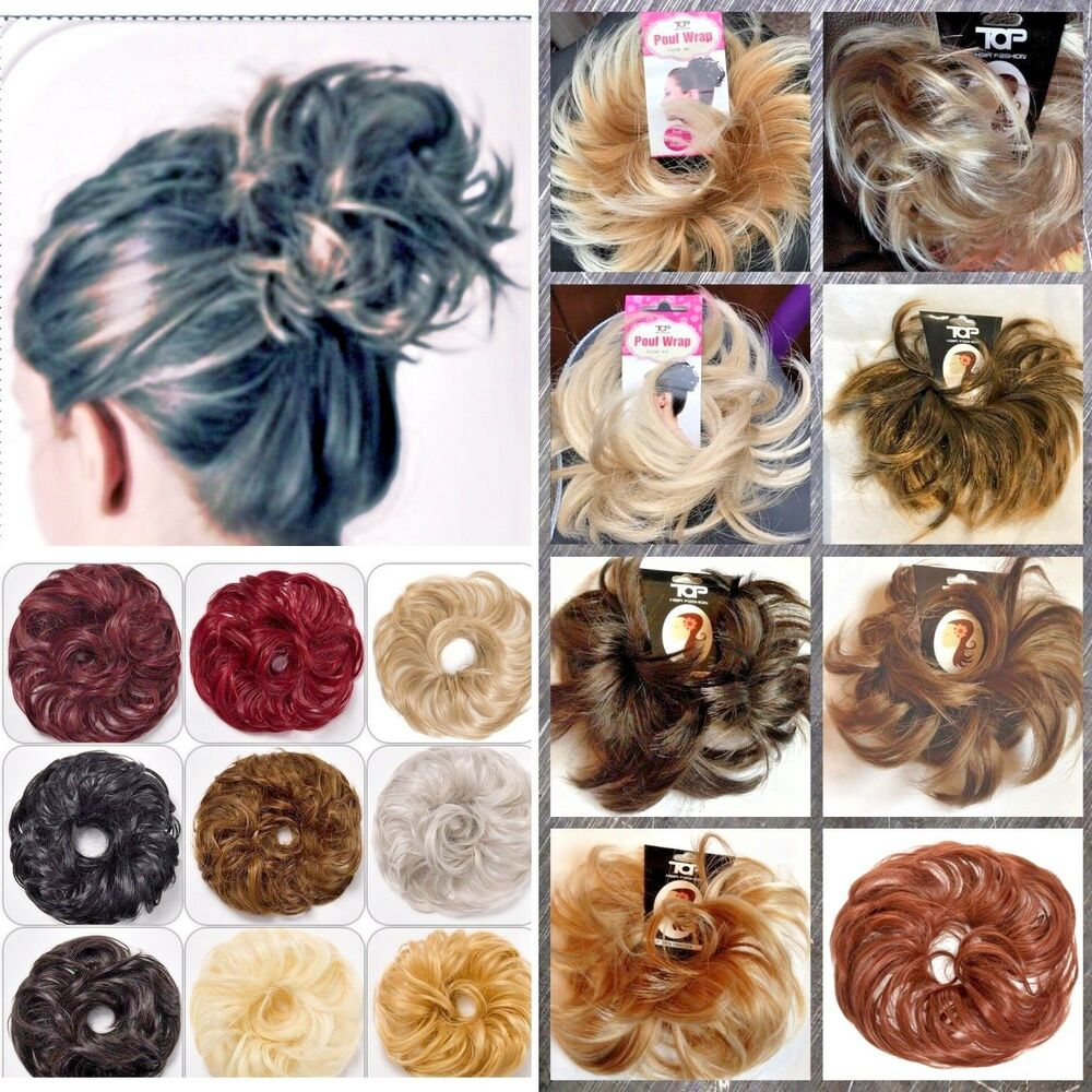 Small Hair Scrunchie For Bun Or Ponytail 2 Styles Spikey