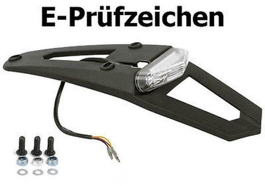 polisport led r cklicht kennzeichenhalter yamaha wr 125 wr. Black Bedroom Furniture Sets. Home Design Ideas