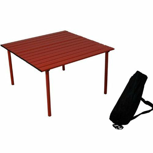 Low Portable Table W Carrying Bag Camping Home Picnic