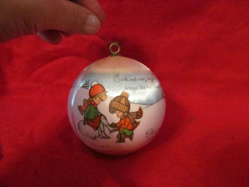 Hallmark christmas ornament joan walsh anglund satin