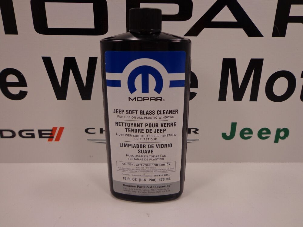 Jeep Wrangler New Jeep Soft Glass Cleaner For Soft Top