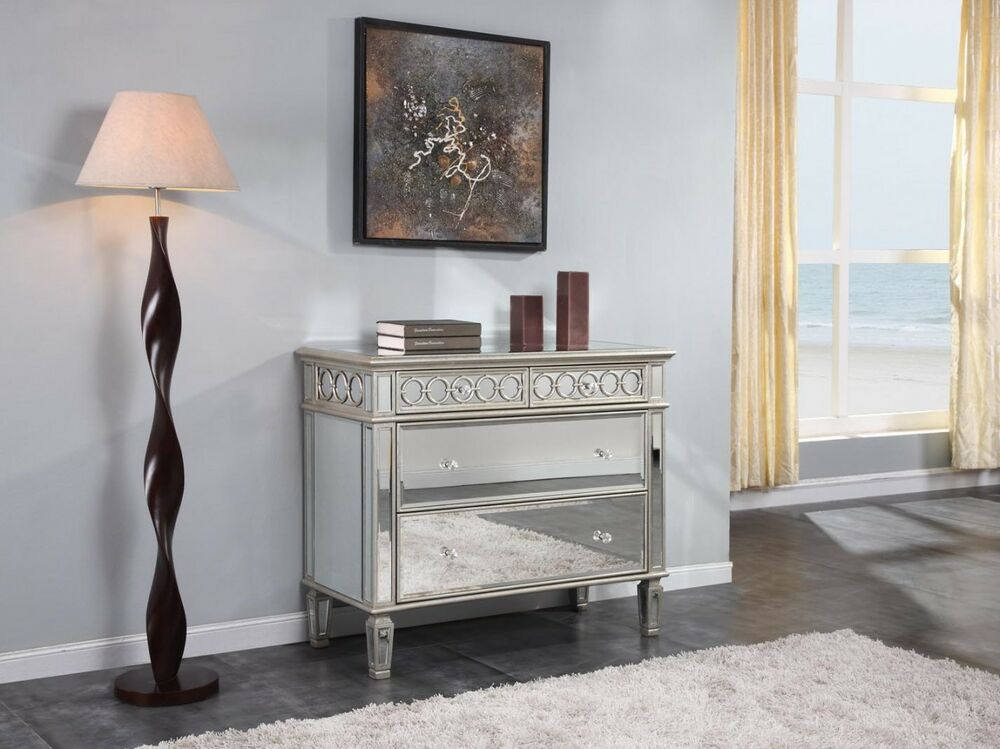 drawer mirrored dresser quality furniture bedroom chest free