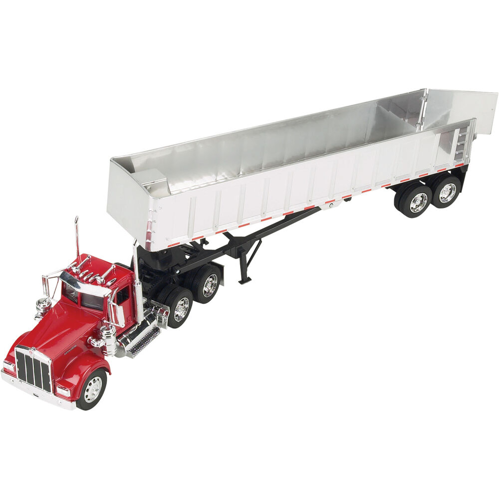 Toy Model Trucks : Kenworth w frameless dump truck model ebay