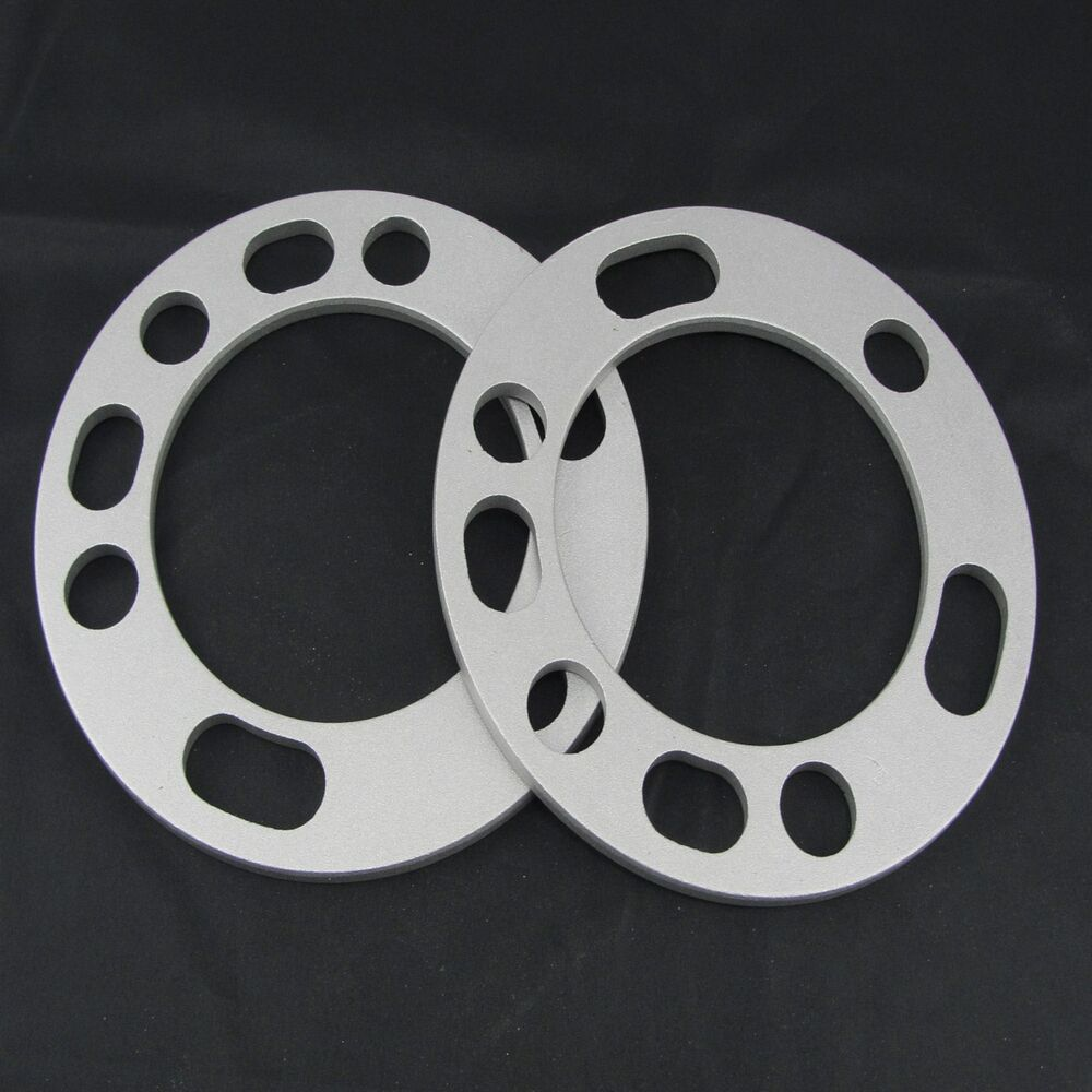 """6X5 5 Wheel Spacers >> (2) 1/4"""" Chevy GMC Wheel Spacers 