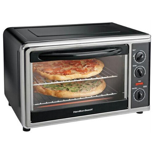Large Capacity Countertop Convection Oven Food Network : Hamilton Beach Large Capacity Counter Top Convection Oven Rotisserie ...