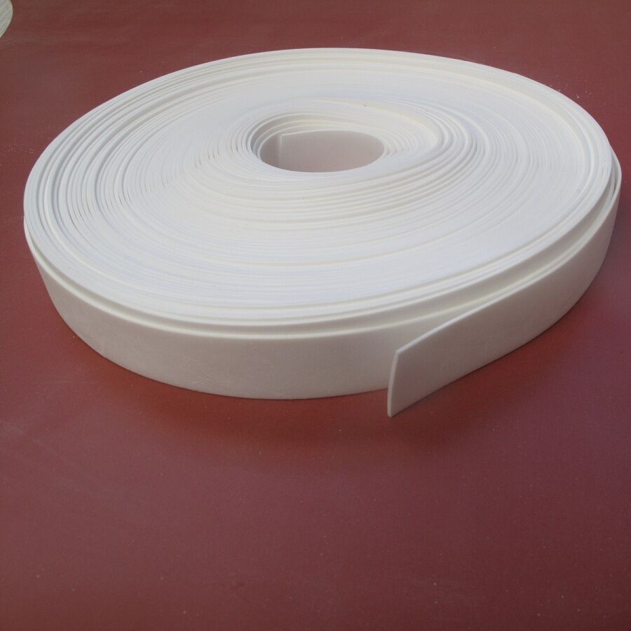 Solid Silicone Rubber Strips 1 5mmthk X 5mtrs Long White