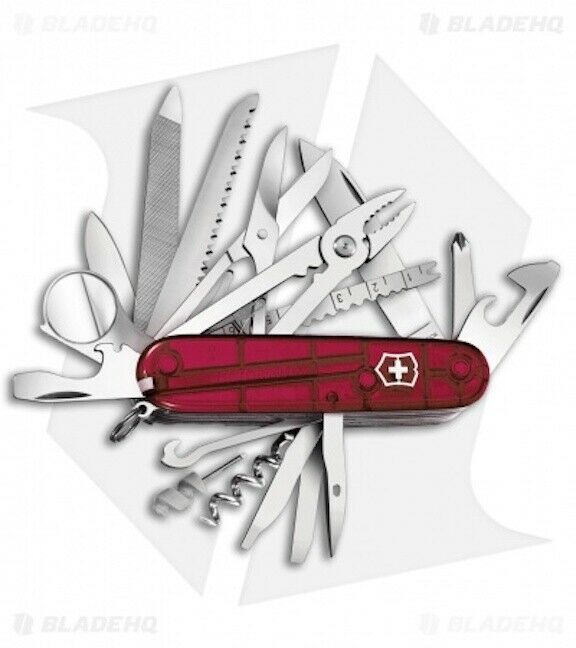Victorinox Swiss Army Knife Swisschamp Ruby Red