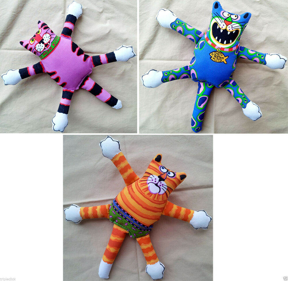 Fat Toy Dogs : Fat cat classic terrible nasty scaries dog toy floppy