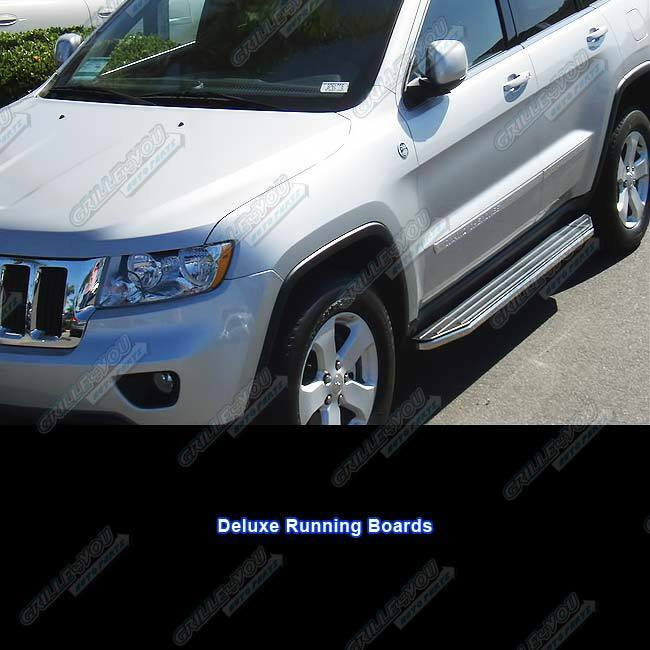 """2014 Jeep Grand Cherokee Side Steps >> Fits 2011-2014 Jeep Grand Cherokee 69"""" Deluxe Side Step Nerf Running Boards 