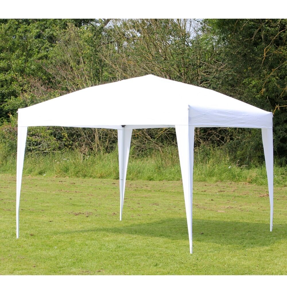 Palm Springs 10ft X 10ft White Pop Up Ez Set Up Canopy