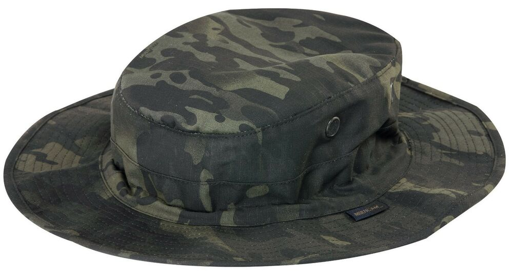 Details about TRU SPEC 3320 MultiCam Black Boonie Hat Nyco Ripstop Camo -  FREE SHIPPING 885e0c58d56