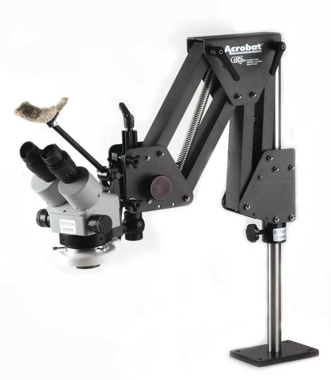Jewelers Microscope With Grs 174 Tools 003 630 Acrobat Stand