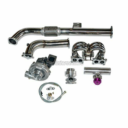 Turbo Kit Ge8: Turbo Manifold Kit For 89 90 Nissan S13 240SX With Stock