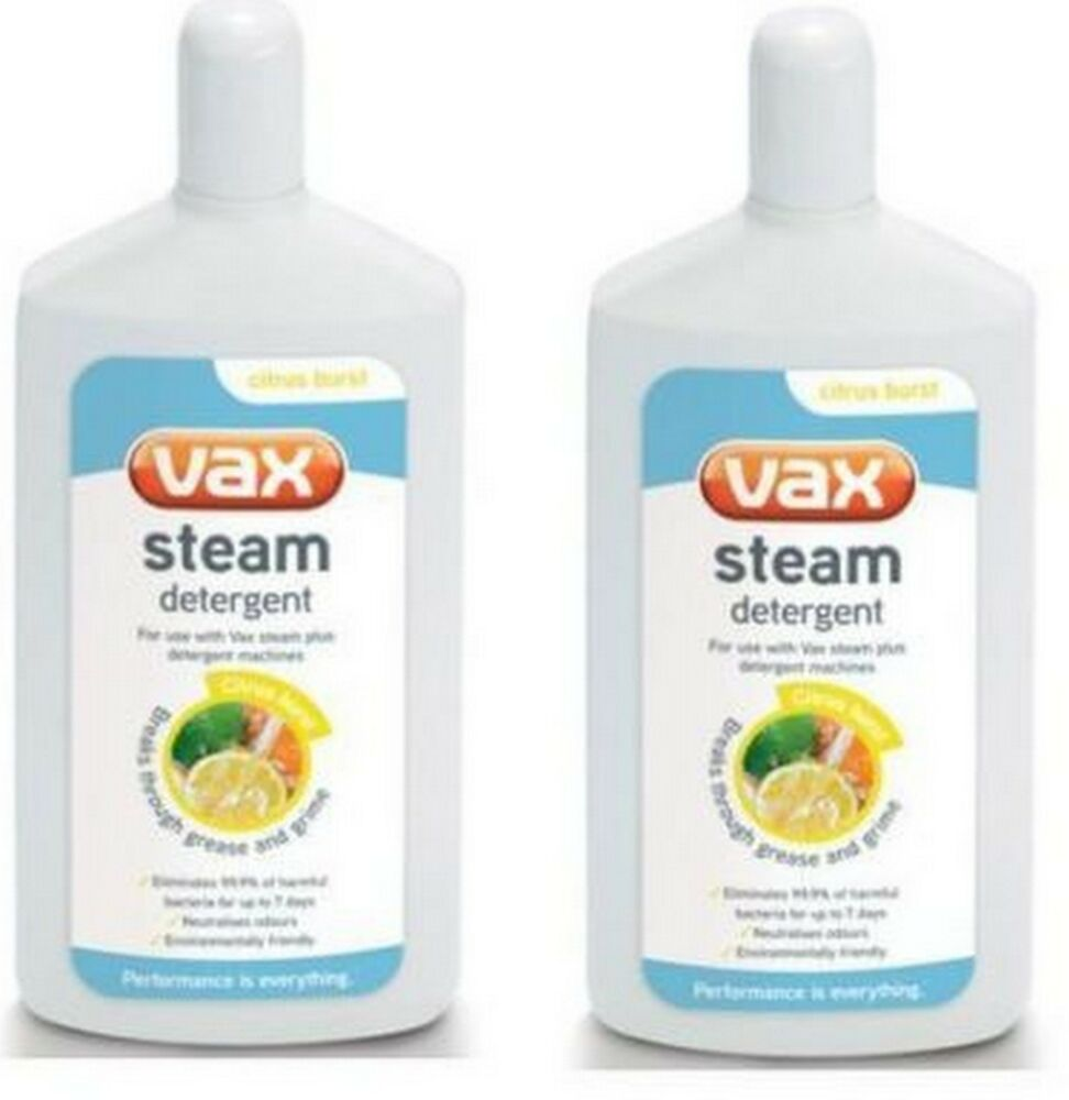 Vax S2s 1 Bare Floor Pro Steam And Detergent Cleaner: TWO Vax Steam Detergent Solution 500 Ml S2S S2ST Bare