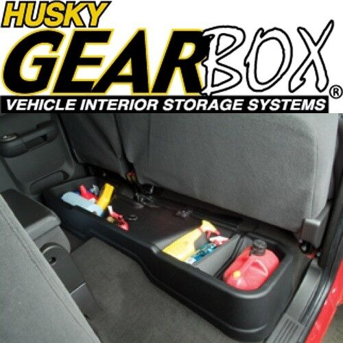 2003 Chevrolet Express 1500 Cargo Interior: Husky 09011 Gearbox Underseat Storage Cargo Box 07-13