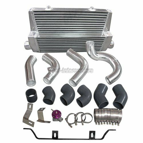 Docrace N54 Top Mount Single Turbo Kit: Intercooler + Piping Kit For 98-05 Lexus IS300 2JZ-GTE