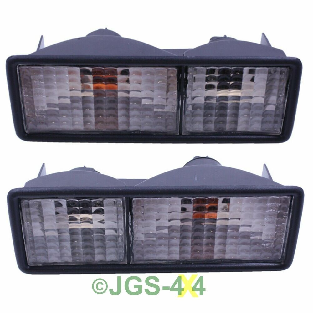 Land Rover Discovery 1 Clear Rear Bumper Light Kit