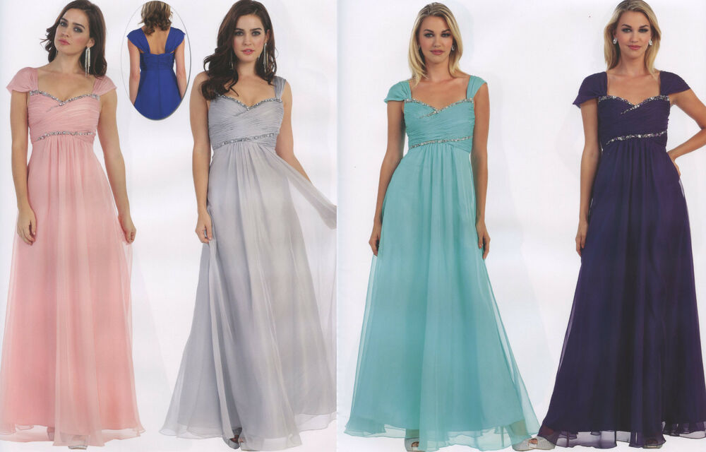 6 COLORS FORMAL OCCASION LOVELY MOTHER OF BRIDE / GROOM