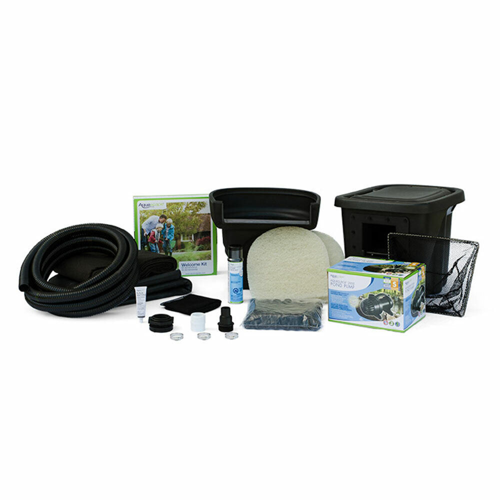 Aquascape pond kit w waterfall pump 4 39 x6 39 small water for 100 gallon pond pump
