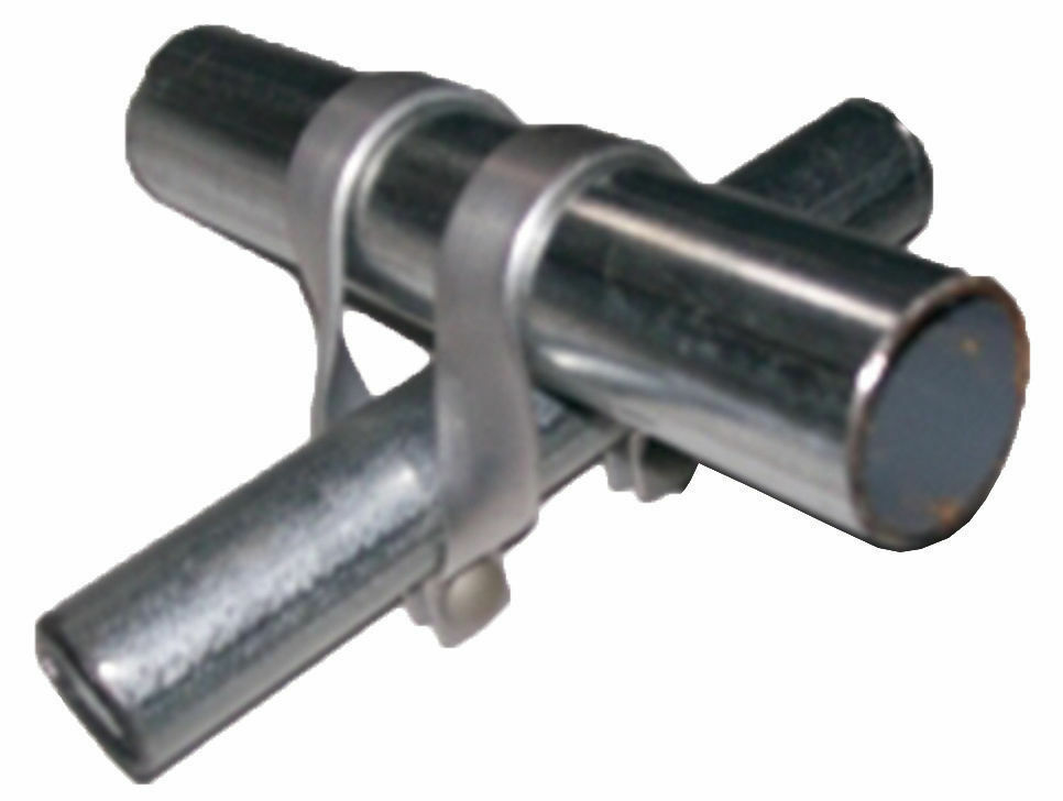 Purlin clamp cross connector for greenhouse quot