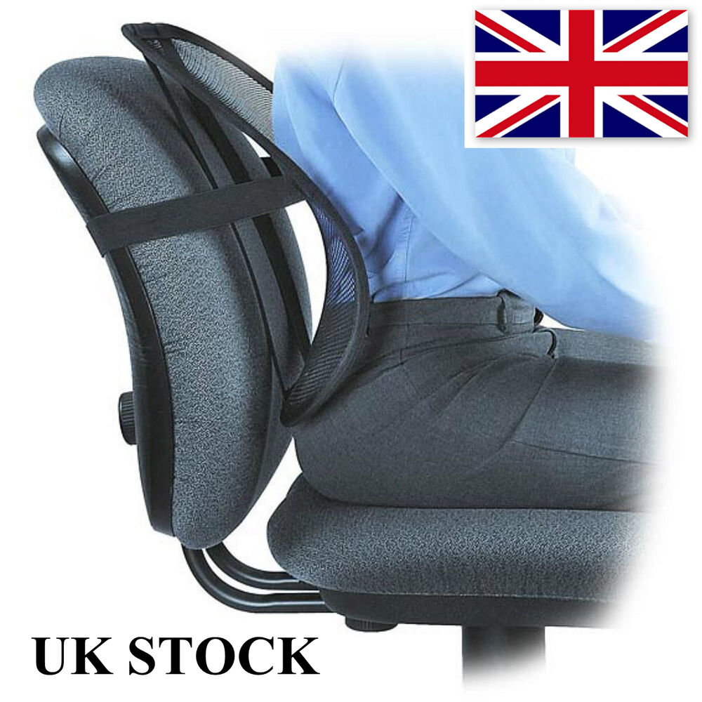 Back Support Lumbar Cushion Pain Relief Car Seat Chair