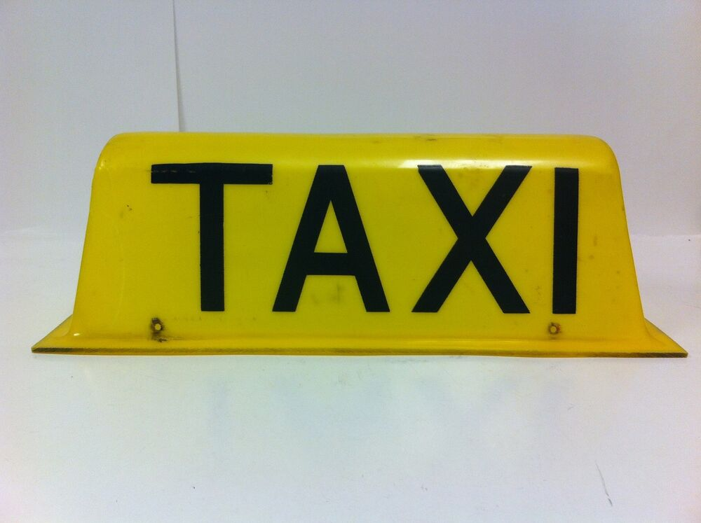 vintage original buenos aires argentina roof top taxi sign. Black Bedroom Furniture Sets. Home Design Ideas
