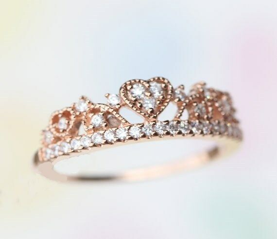 Crown Shaped Pandora Ring