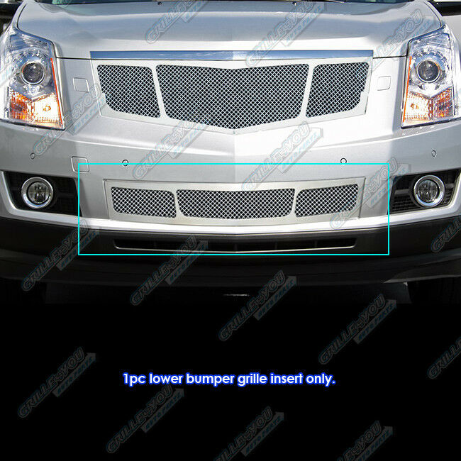 Fits 2010 2012 Cadillac Srx Stainless Steel Mesh Bumper