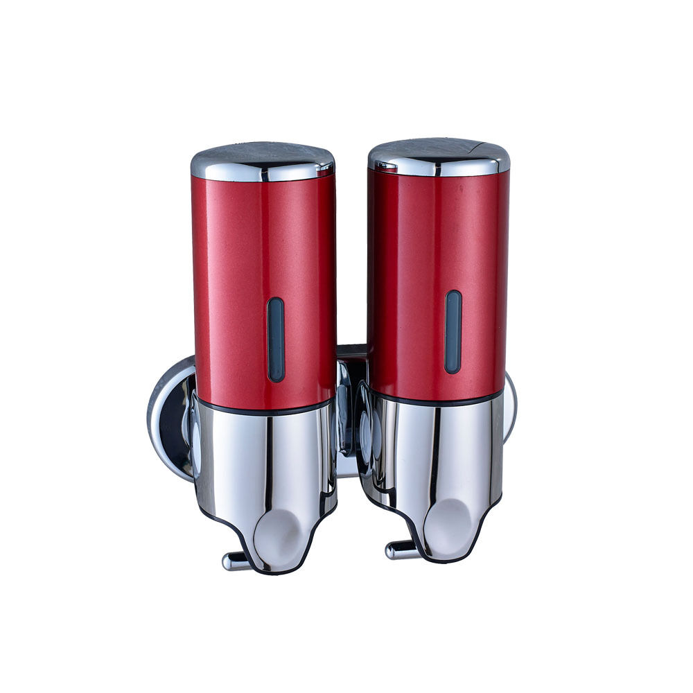 Red Stainless Steel Bathroom Kitchen Soap Dispenser