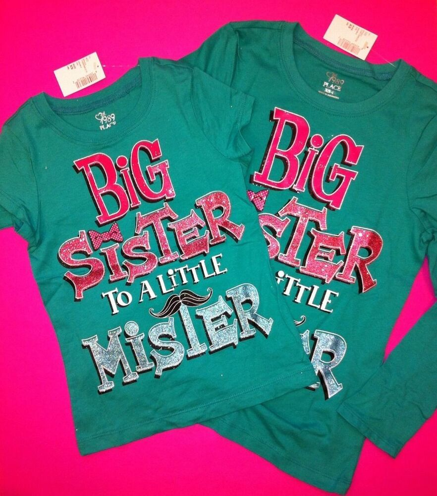 Showing picture big sister t shirt big sis to
