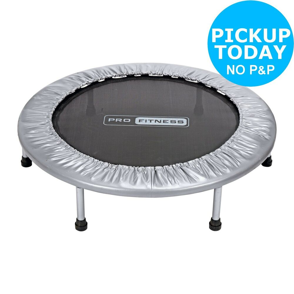 Pro Fitness Trampette, Exercise Trampoline :The Official