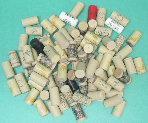125 used plastic wine corks for arts and crafts ebay for Plexiglass arts and crafts