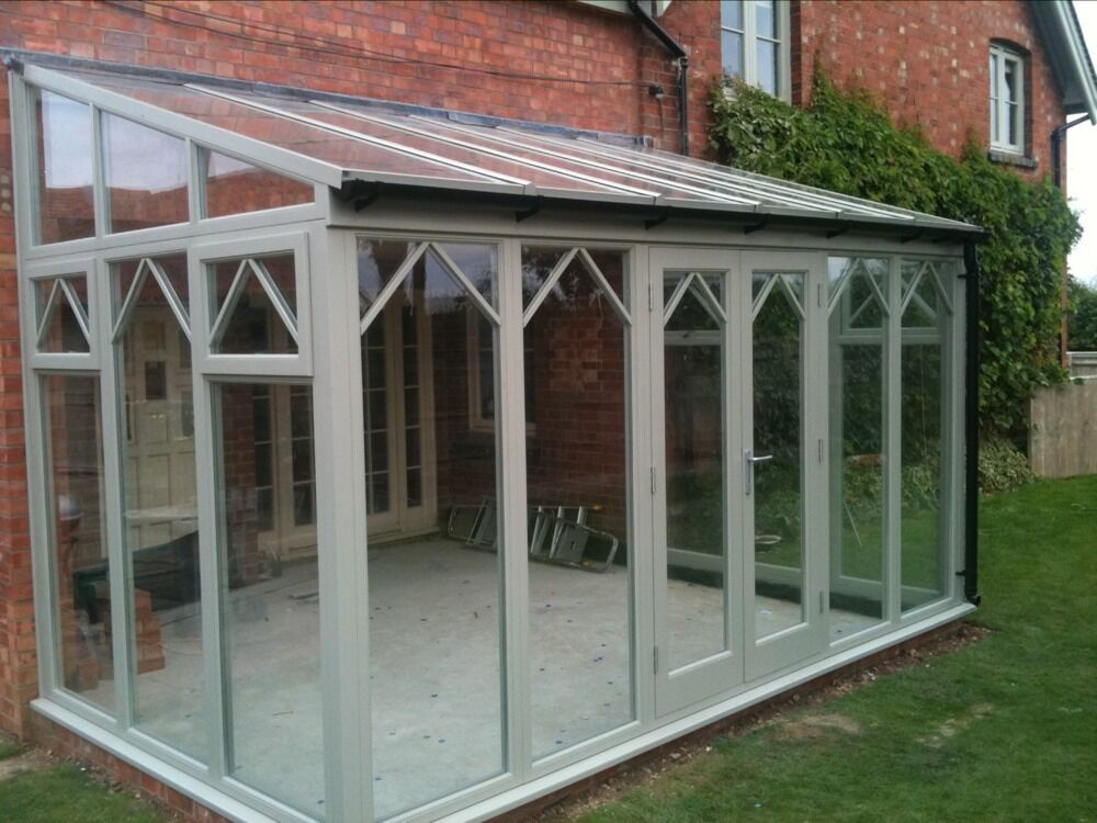 Hardwood bespoke orangery conservatory made to measur ebay for Adding a conservatory