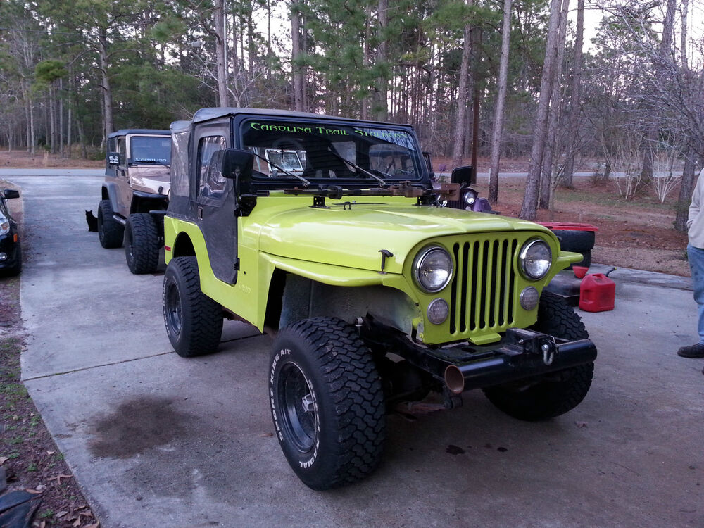 Tube fender kit cj5 cj6 cj7 cj8 jeep wrangler d i y 3 for Cj custom homes